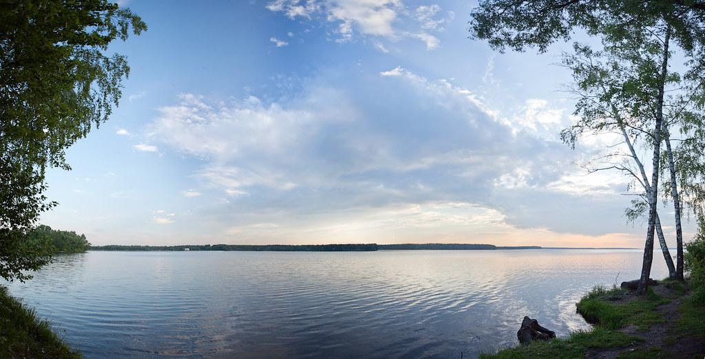 Sunset on the lake 3