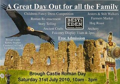 Brough Castle Roman Day (gazrobbo) Tags: village farmersmarket lakedistrict villages stephen cumbria romans stilt appleby falconry jesters brough kirkby westmorland kirkbystephen broughcastle gazrobbo carvetti