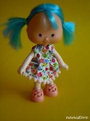 Cute girl (Nanistore) Tags: vintage strawberry etsy shortcake moranguinho strawberryshortcakedoll nanistore