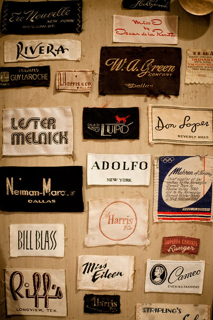 Bon Ton tags and labels