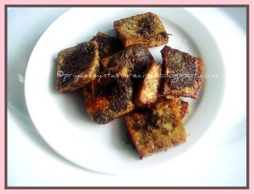Hara bara tofu kebab