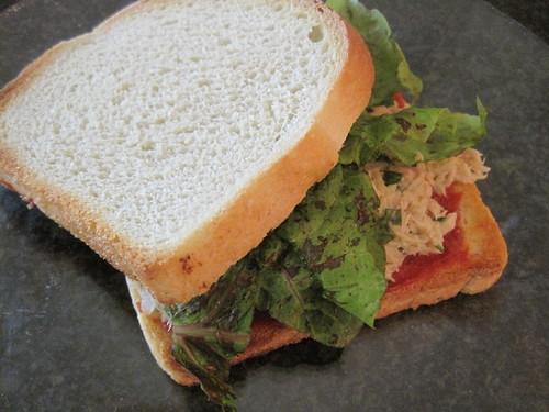 Maltese Tuna Sandwich