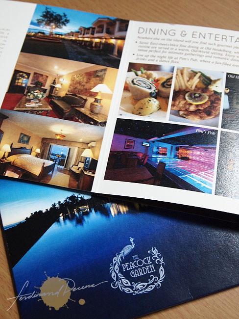 Brochure for Peacock Garden Resort