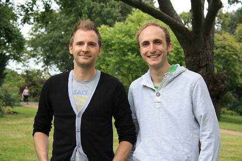 Matt Fisher and James Beckingham