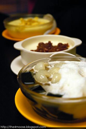 Dessert Bowl - Trio of Desserts