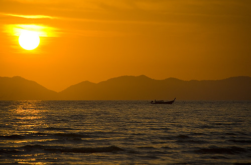 Sunset from Railay