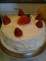 Finish cake