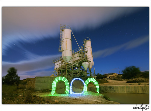 probando el Light Painting (by educifu)