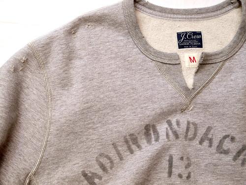 J.Crew / Vintage Cut-Off Sweatshirt