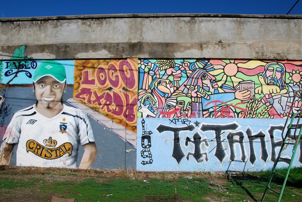 Cerro Navia, mural