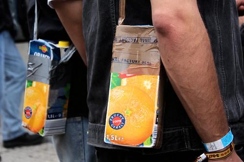 Portable Orange Juice (or whatever liquid)