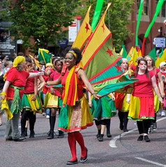 Manchester Day Parade by Flickr User BinaryApe