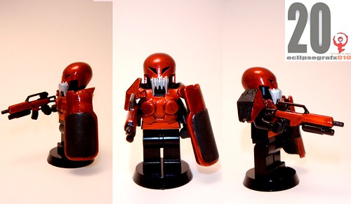 Krimhield future armor custom minifig
