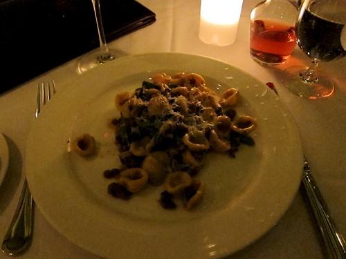 pasta at b&b ristorante