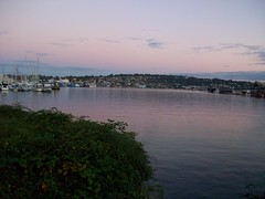 Lake Union at sunset (ElenaNW) Tags: seattle washington fremont wa