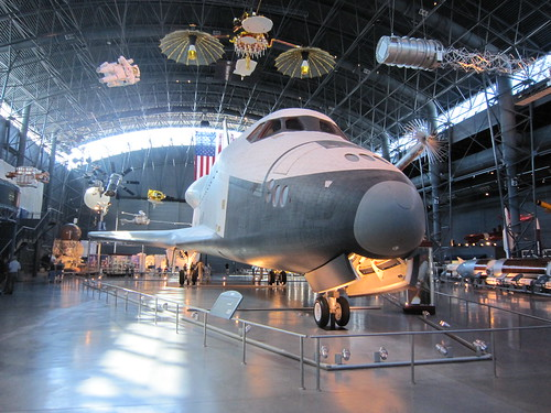 The Space Shuttle Enterprise at the Smithsonian. (10/12/2010)