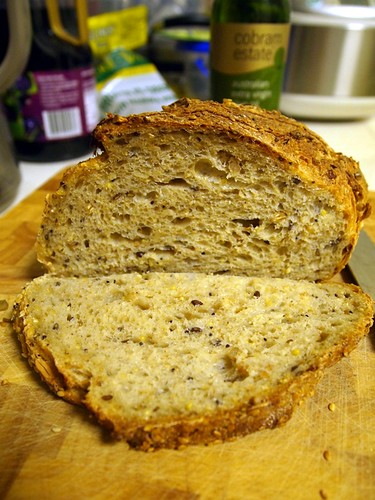 Nuts & grains sourdough@Banneton