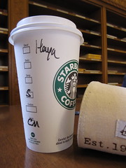 what the H?! (kleine_moewe) Tags: coffee starbucks namegame starbucksandcaribouinonepicturecorporatedirty theytrysohardtheyreallydo