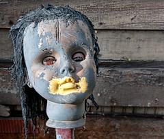 Heidelberg Project - Doll (Bob Jagendorf) Tags: travel art doll paint detroit heidelberg hdr lucis jagendorf