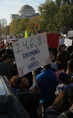 2, 4, 6, 8,... rhyming is hard (Stephen Little) Tags: show people signs sign mall march washingtondc dc washington costume concert districtofcolumbia jonstewart election comedy unitedstates fear political politics capital rally protest performance demonstration capitol stewart restore irony nationalmall comedian johnstewart ironic vote crowds sanity colbert dailyshow voter stephencolbert comedycentral firstamendment attendee stewartcolbert tamronaf1750mmf28 10302010 october302010 marchtokeepfearalive rallytorestoresanity keepfearalive rally4sanity rallytorestoresanityandorfear restoresanity sanityandorfear rallytorestoresanityanoffear fearalive rallyfear jstephenlittlejr