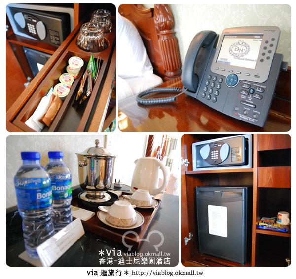 【香港住宿】跟著via玩香港(4)~迪士尼樂園酒店(外觀、房間篇)36