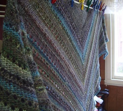 Gaia shawl