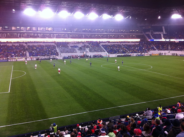 NY Red Bulls Playoff Match  - November 4