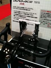 シマノDura-aceの電動変速マシン