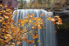 Decew Falls in Autumn (Tree Hugger) Tags: autumn waterfall decewfalls morningstarmill
