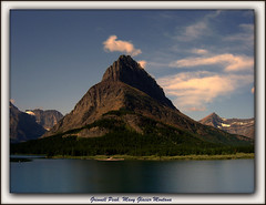 Grinnell Peak, Glacier National Park (riordanNH) Tags: park lake montana peak glacier national grinnell swiftcurrent