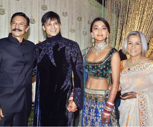 Vivek Oberoi wedding reception