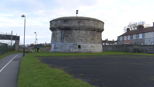 The Williamstown Martello Tower, located in Blackrock Park, was built between 1804-1806.