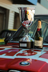 Cheers ! (NaPCo74) Tags: peter auto gpao grand prix de lage dor age or dijon prenois bourgogne france historic classic racing endurance car canon eos 700d bmw 530 530i us bastos red chmpagne moetchandon moet chandon 1977 heritage touring cup saloon podium win winner