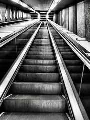 Escalator, Rome, Italy. (Massimo Virgilio - Metapolitica) Tags: