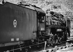 Chinese Steam Train (gerard eder) Tags: world reise travel viajes asia eastasia easternasia china beijing railroad railways train steamtrain steamlocomotive outdoor transport