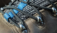 Relaxation HMM (Harry McGregor) Tags: macromondays hmm relaxation walkingboots laces eyelets