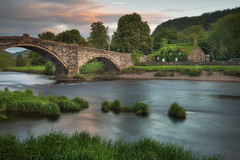 Ploughmans Lunch - TU HWNT I'R BONT TEAROOM (Gavin Hardcastle - Fototripper) Tags: wales welsh tea house tu hwnt i'r bont tearoom summer sunset river gavinhardcastle fototripper