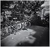 Fotografía Estenopeica (Pinhole Photography) (Black and White Fine Art) Tags: aristaedu400 pinhole4214x214 pinhole03mm niksilverefexpro2 lightroom3 camaraestenopeica pinholecamera pinhole estenopo sanjuan oldsanjuan viejosanjuan puertorico bn bw bicicleta bicycle
