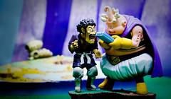 Mr Satan with Buu (YeoZz) Tags: dbz toy megahouse buu satan