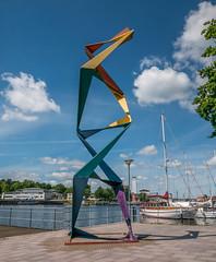 Jörg Plickat: Helix (MarcoKiel) Tags: neustadt holstein helix jörgplickat skulptur sculpture