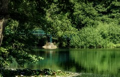 Lac de Tutegny Cessy (Severine P.) Tags: paysdegex ain france landscape paysage lac lake tutegny cessy pont bridge