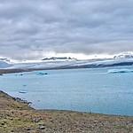 Republic of Iceland ~ Shoreline with Icebergs thumbnail