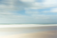 come ....... and listen to the sea (Brigitte Lorenz) Tags: seascape abstract icm northsea light water mood clouds