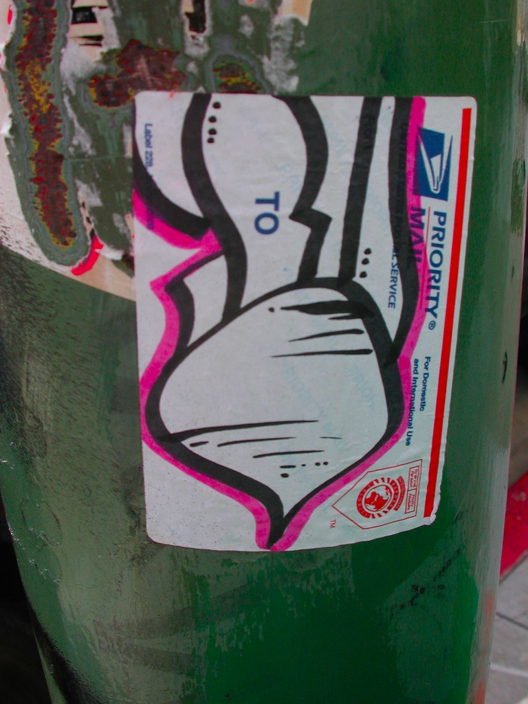 Turnip Graffiti Sticker.