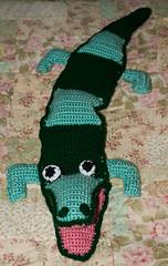 alligator (willpt2001) Tags: toy alligator crocheted
