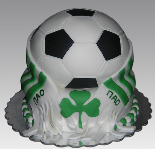 soccer ball cake. Football Soccer ball Cake