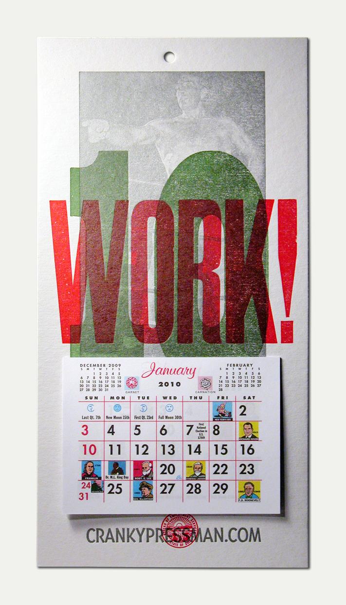 2010 Cranky Calendar