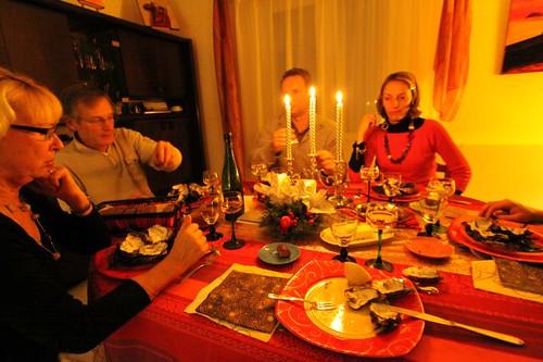 Xmas dinner 2009.
