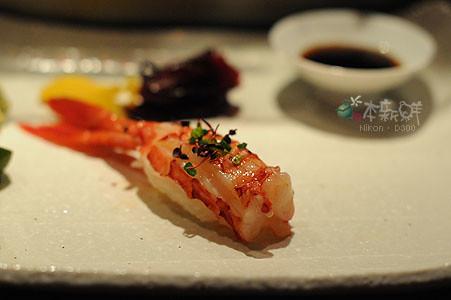胭脂蝦握壽司