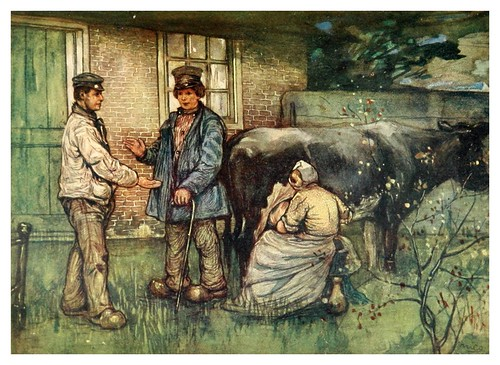 030-La venta de una vaca-Holland (1904)- Nico Jungman
